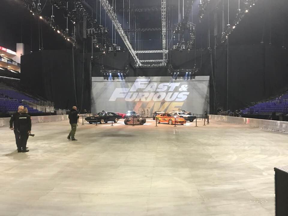 Fast and Furious Live Sound designer