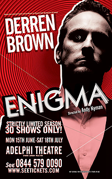 Derren Brown Enigma Sound Designer