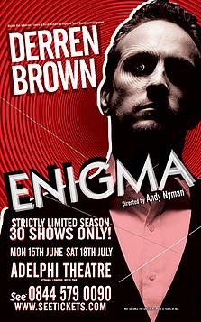 Derren Brown Enigma Sound Designer