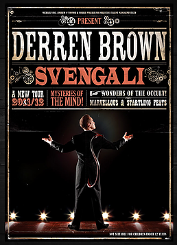 Derren Brown Svengali Sound designer